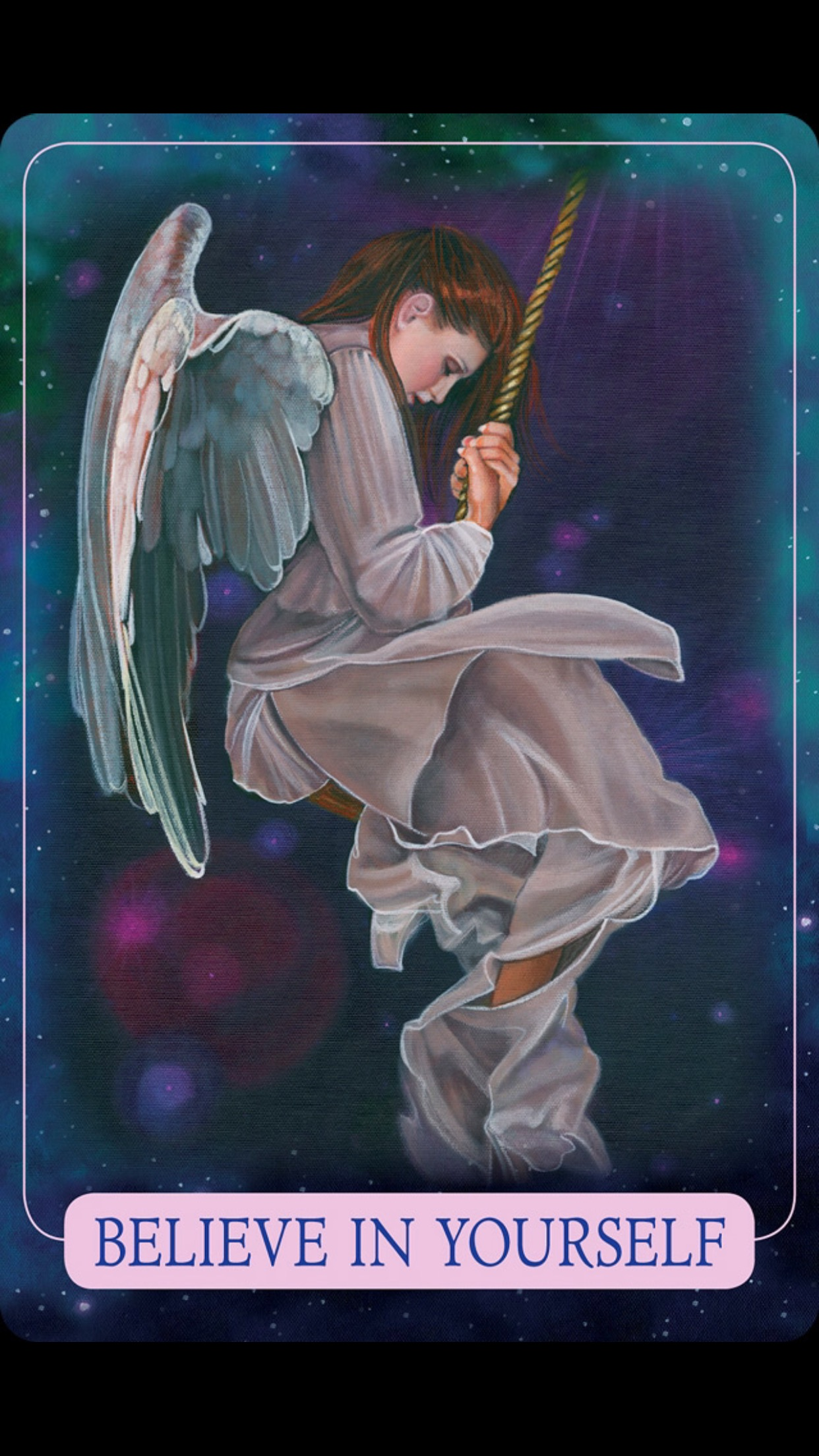 Weekly Angel Card Reading For October 27 Through November: Weekly Angel Card- Believe In Yourself
